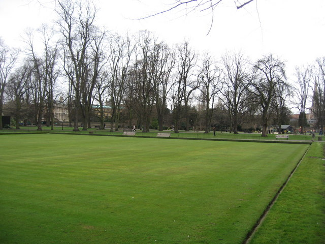 Bowling Green - southern corner of Christ's Pieces