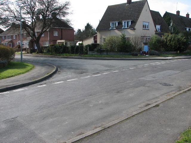 Junction of Wilding  & Andrew  Road