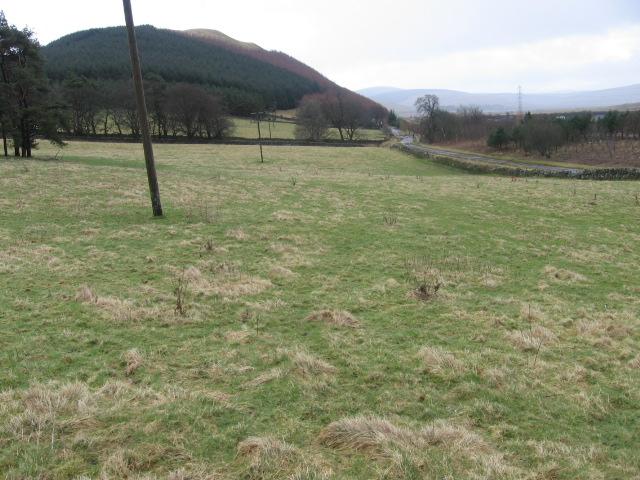 Towards Newton Farm and Bodsberry Hill