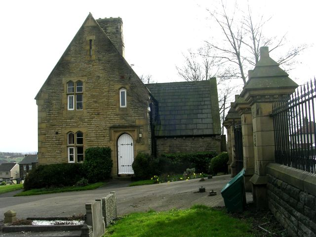 Earlsheaton Cemetery Lodge - Syke Lane