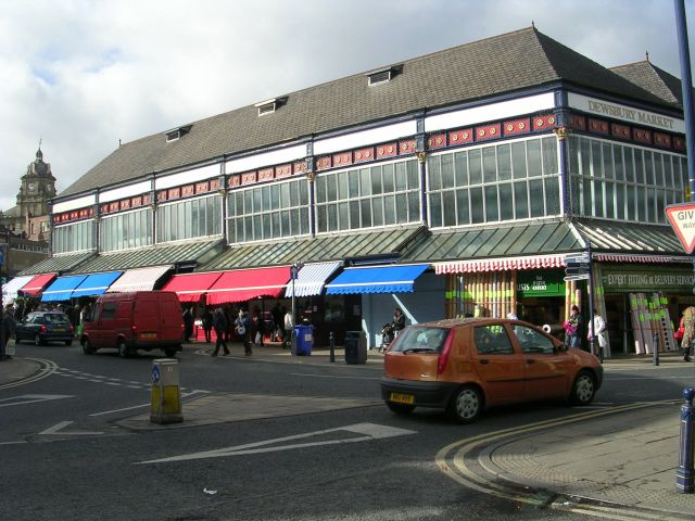 Dewsbury Covered Market - Corporation Street