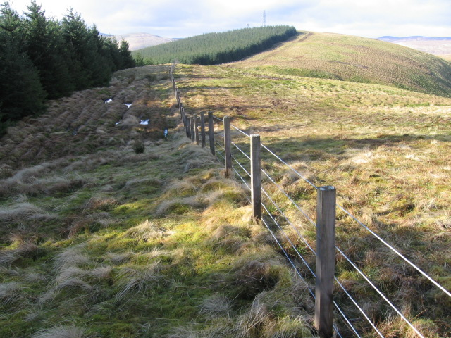 Middle Rig towards Lady Cairn