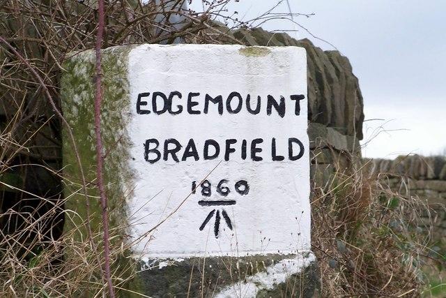 Edgemount Village Boundary Marker Stone