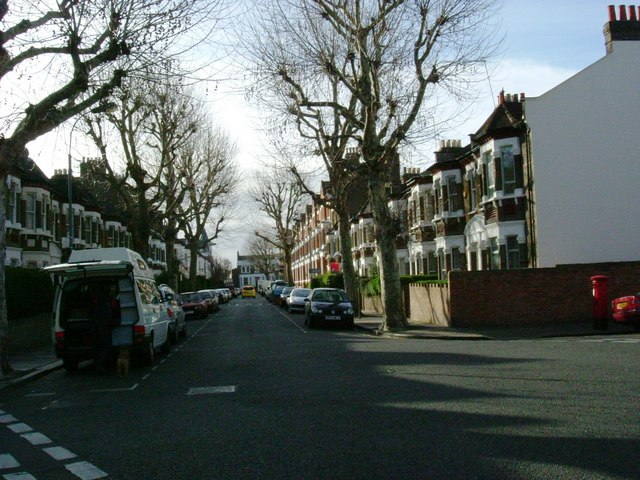 Halsbury Road and Ormiston Grove