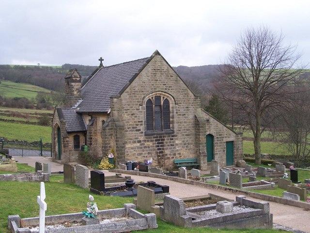 Birtin Cemetery. Burton Lane, Oughtibridge (March 2008) - 3