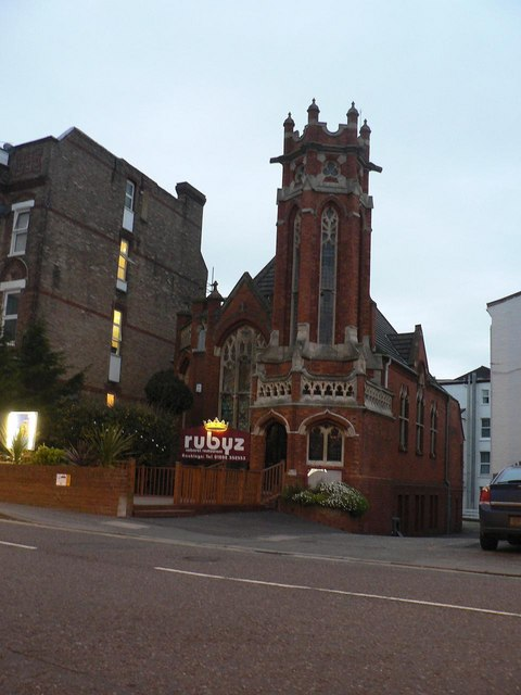 Bournemouth: former Unitarian church
