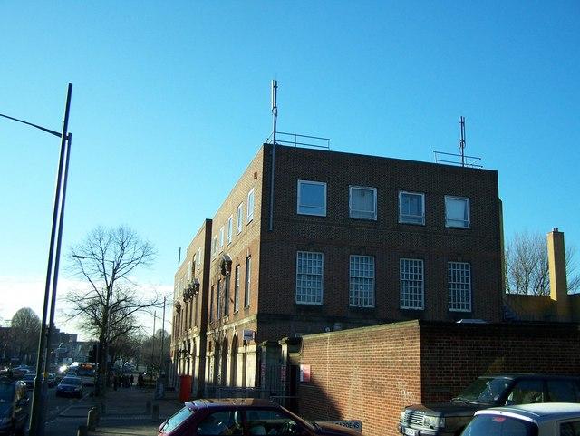 Erdington Telephone Exchange and Royal Mail depot