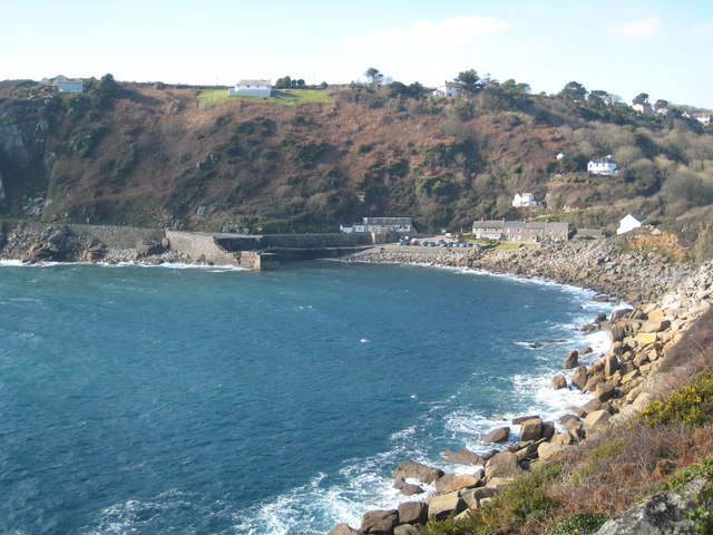 Lamorna Cove from the SW Coast Path