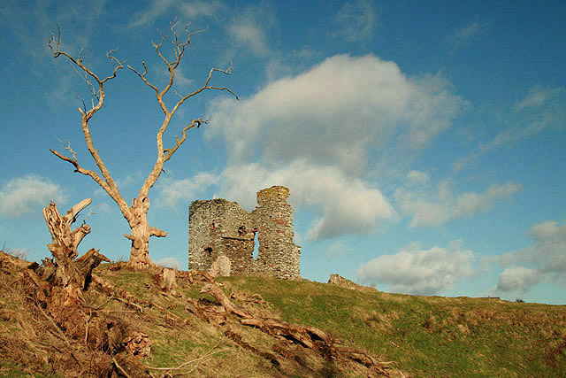 The remains of Old Thirlestane Castle