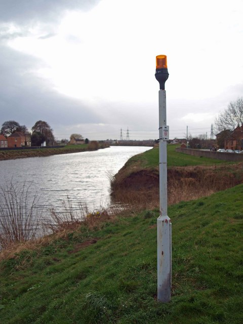 River Trent Navigation beacon