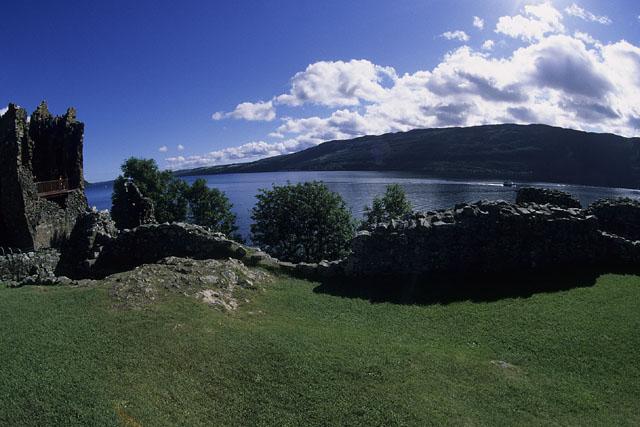 Urquhart Castle - fisheye