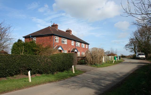 Houses at Croxton Green