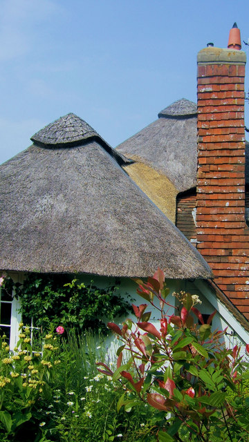 Thatched Cottage in Rodmell Village, Sussex.