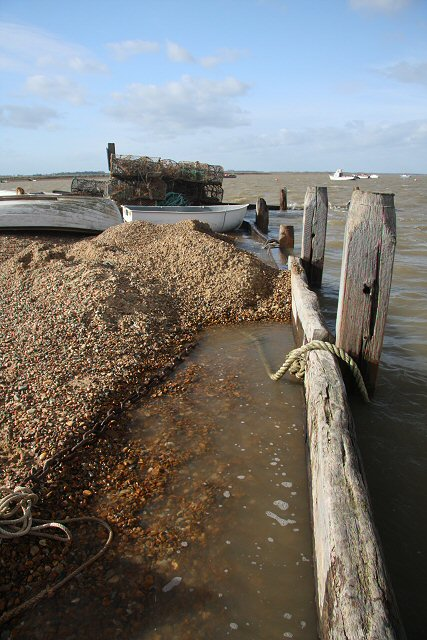 High water at Felixstowe Ferry