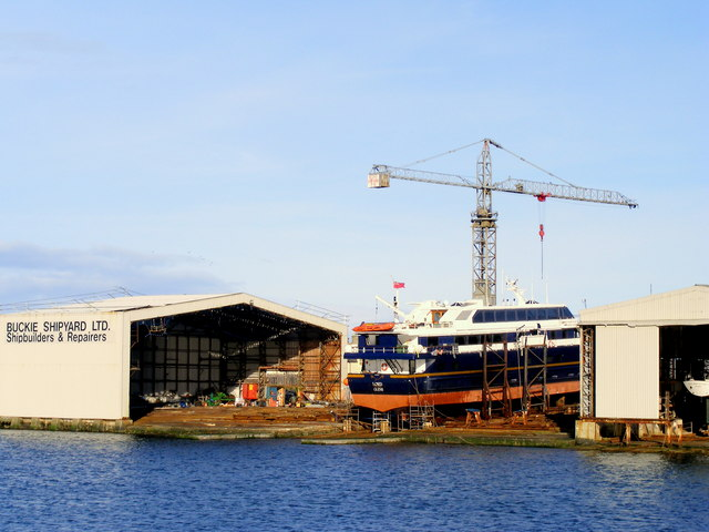 The Shipyard at  Buckie