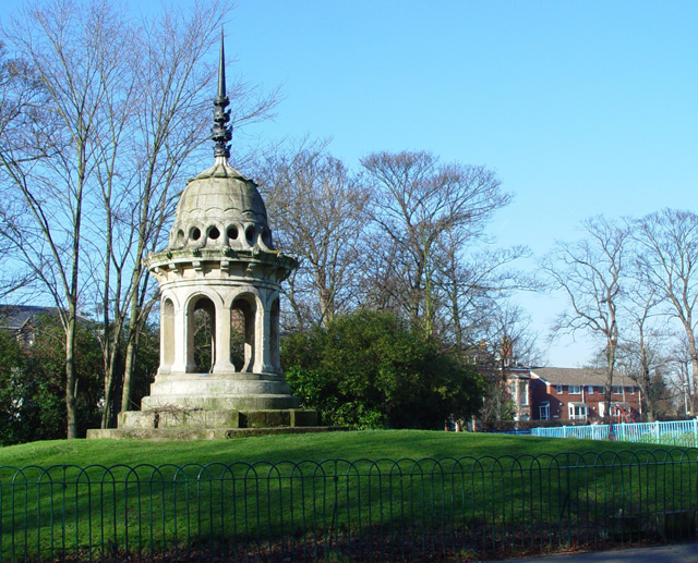 The cupola, Pearson Park, Hull
