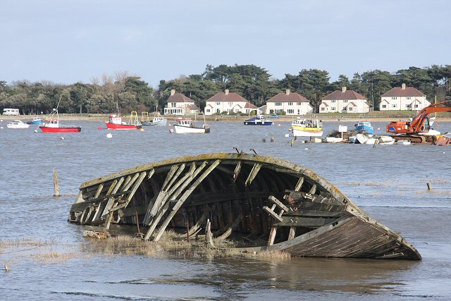 Wreck in the Deben