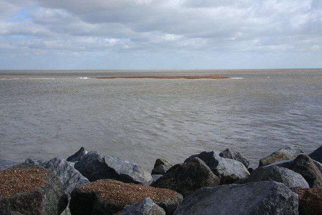 Offshore shingle bank