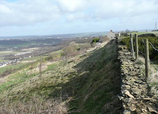 Boundary wall, Elland