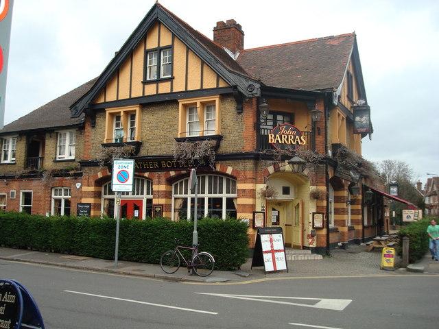 The Leather Bottle Public House, Kingston Road, London SW19