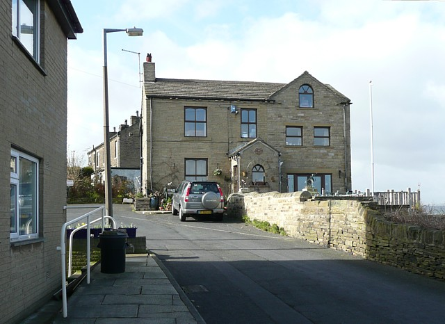 House at the end of Banks End Road, Elland