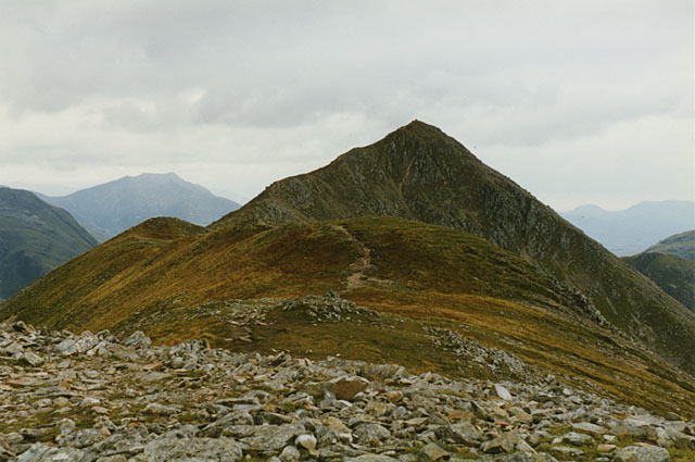 The Buachaille Etive Beag ridge