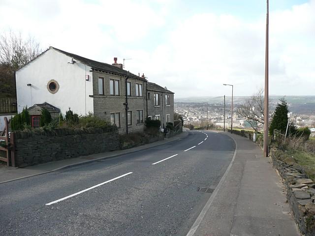 Houses, Dewsbury Road, Elland