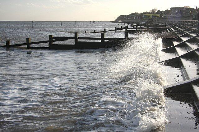 High water at Felixstowe