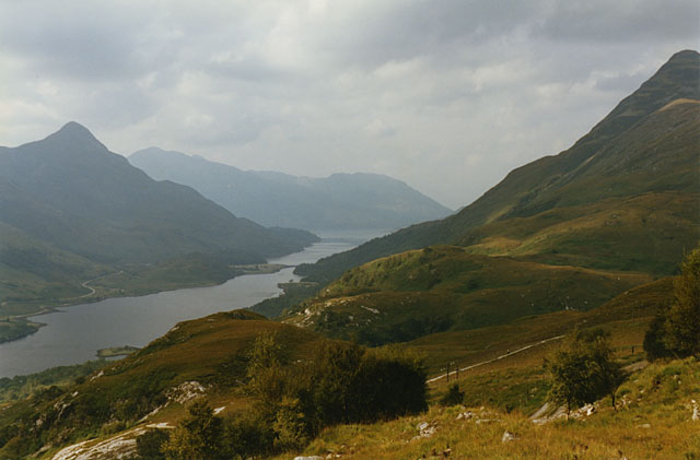 Hillside north of Loch Leven