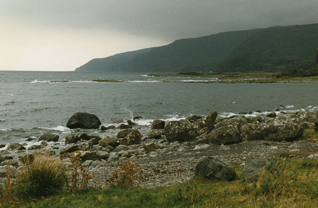 The north side of Loch Buie