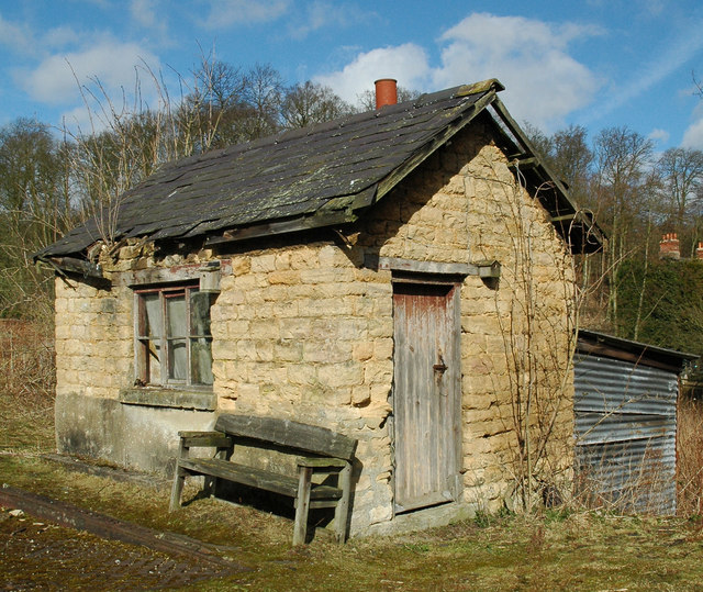 Old Weighbridge Office - another view!