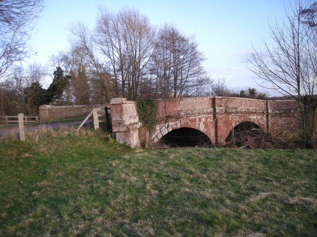 Cound Stank Bridge.