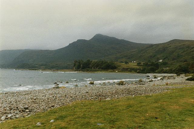The beach at Loch Buie