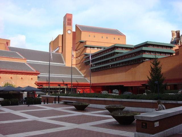 Main entrance, British Library