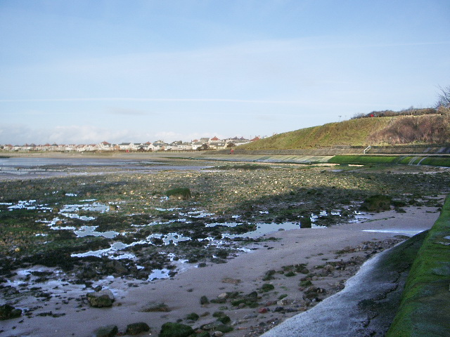 Foreshore at Lower Heysham