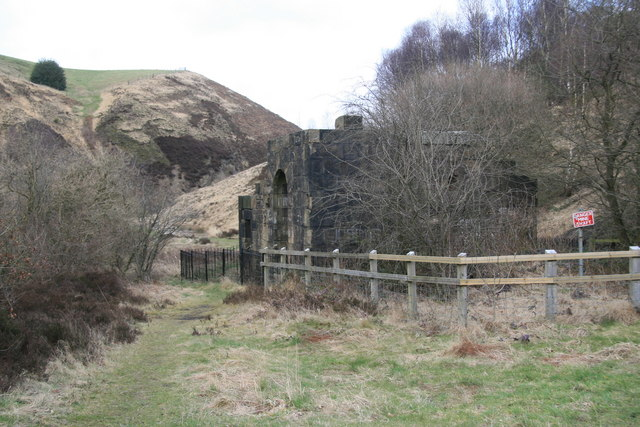 Rocher Vale Colliery engine house
