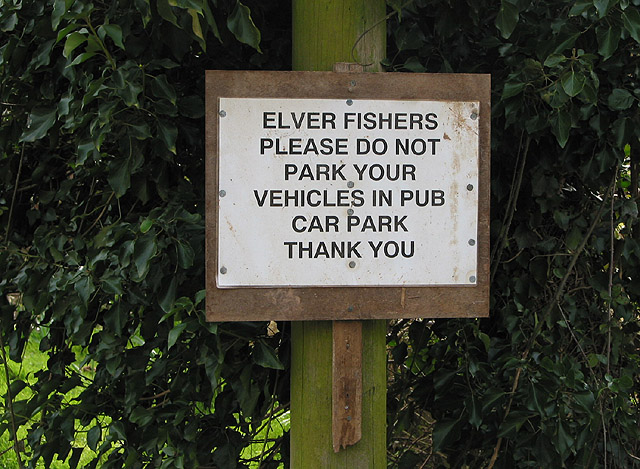 No parking for elver fishers