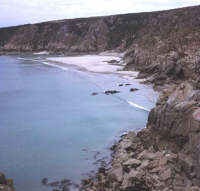 Treen Cliff and Pednvounder beach