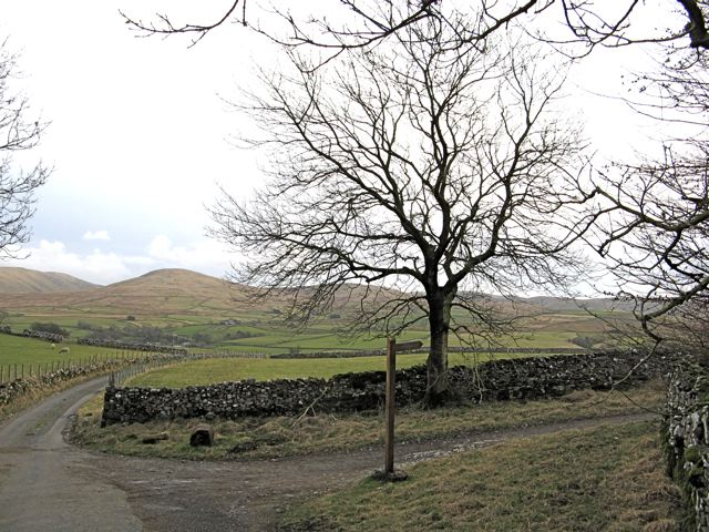 Wain Gap and Howgills