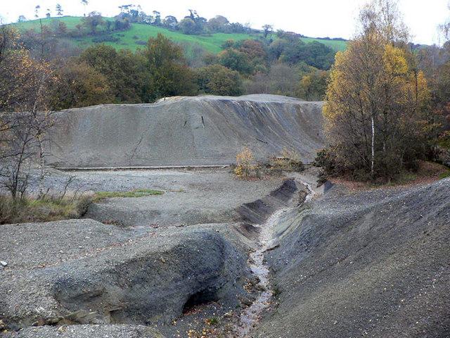 Redundant quarry near Trusham