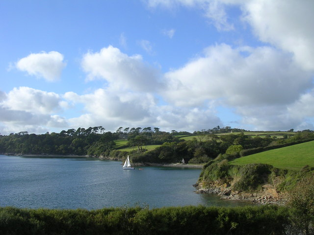 Porth Sawsen on the Helford River