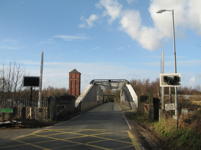 Moore Swing Bridge, Manchester Ship Canal