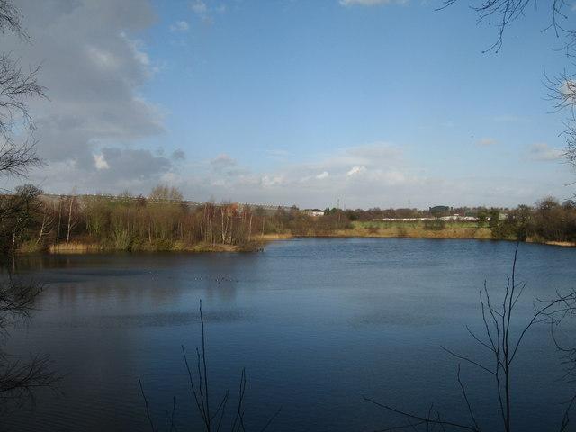 Lake near Moss Lane, Moore