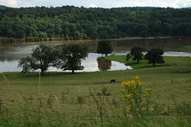 Floods on the River Severn (July 2007)