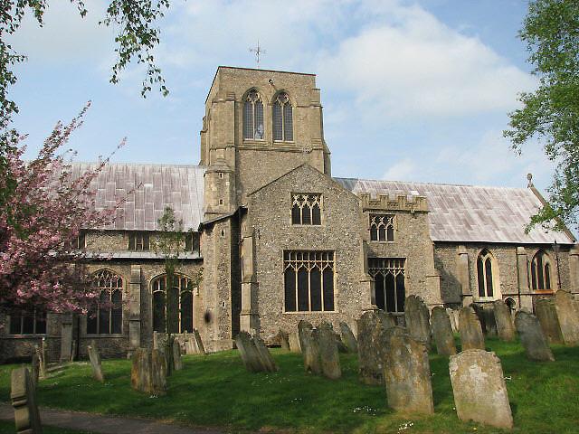The church of St Nicholas