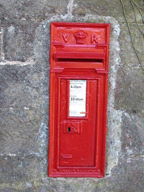 Warsill post box