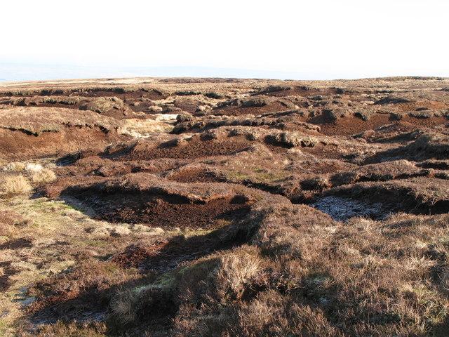 Peat haggs on Chapelfell Top (3)