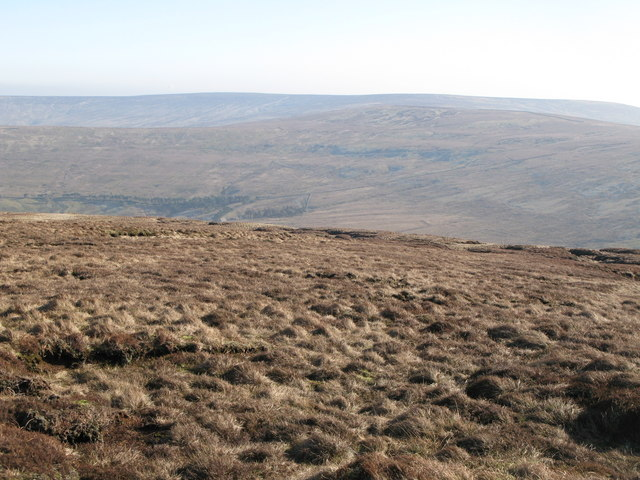 Moorland east of Chapelfell Top