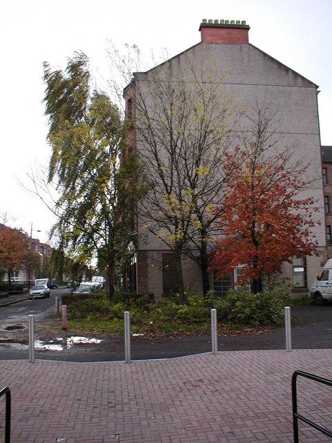 Autumn trees in Yoker