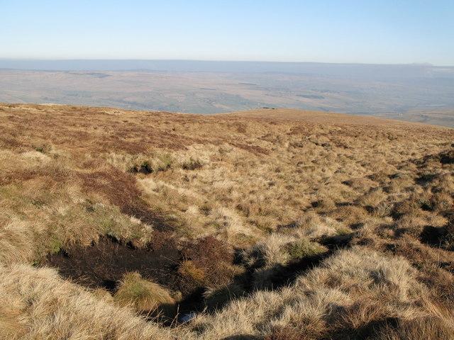Peat haggs on Windyside Moss